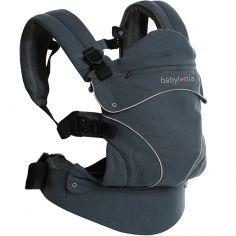 Porte bébé Flexia coton bio gris foncé