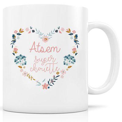 Mug céramique Atsem super chouette  par Signature Label Tour