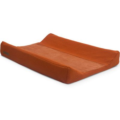 Housse de matelas à langer Brick velvet rouille (50 x 70 cm)  par Jollein