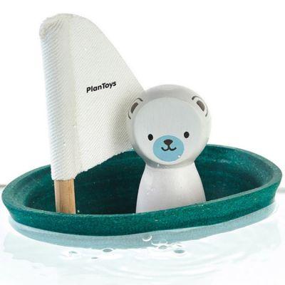 Bateau ours polaire  par Plan Toys