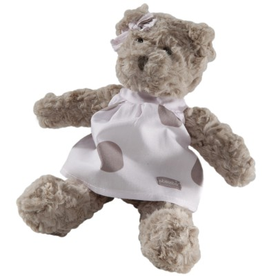 Mini peluche Mlle Louise l'ourse (15 cm) Absorba