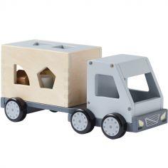 Camion trieur de formes en bois Aiden