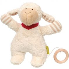 Peluche musicale mouton Green (22 cm)
