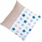 Coussin carré Mixed stars mint (40 x 40 cm) - Little Dutch