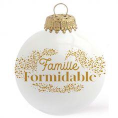 Boule de Noël Famille formidable