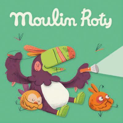 Lot de 3 disques pour lampe à histoires Dans la Jungle  par Moulin Roty