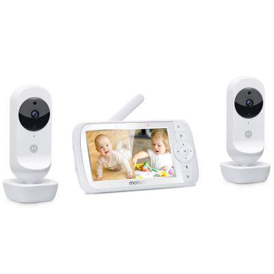 Moniteurs bébé vidéo EASE 35 twin avec écran 5  par Motorola