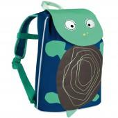 Mini sac à dos Duffle Tortue  Wildlife bleu - Lässig