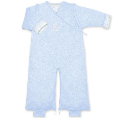 Gigoteuse légère pady jersey Stary bleu frost chiné TOG 1 (70 cm)  par Bemini