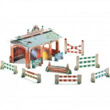 Centre équestre 3D  par Djeco