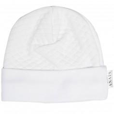 Bonnet de naissance Diamond White