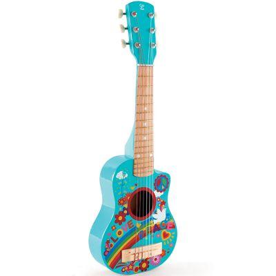 Guitare flower power