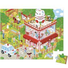 Puzzle Clinique des animaux (36 pièces)