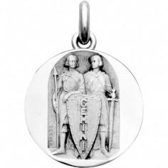 Médaille signe Gémeaux (argent 925°)