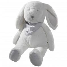 Peluche Mr Martin le lapin Blanc (35 cm)