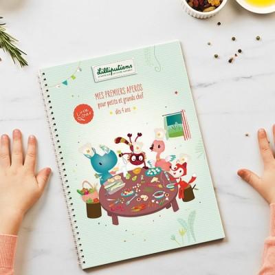 Livre de recettes Mes premiers apéros Little Chef Lilliputiens