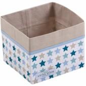 Panier de toilette Mixed stars mint (15 x 15 cm) - Little Dutch