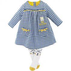 Ensemble 2 pièces avec robe Vichy (12 mois)