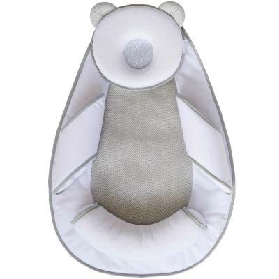 Support de sommeil Panda Pad Air+ blanc et crème  par Candide