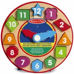 Horloge de tri de formes