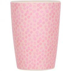 Gobelet en bambou rose Pink