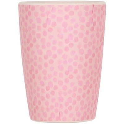 Gobelet en bambou rose Pink  par Love Maé