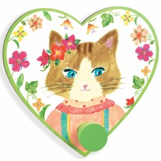 Patère Miss Cat Jade