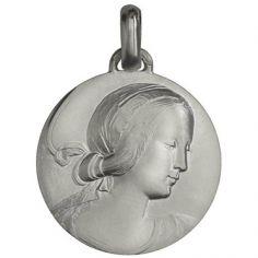 Médaille Vierge de Milan (argent 950°)