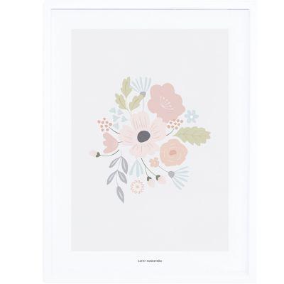 Affiche encadrée Bloom (30 x 40 cm)  par Lilipinso