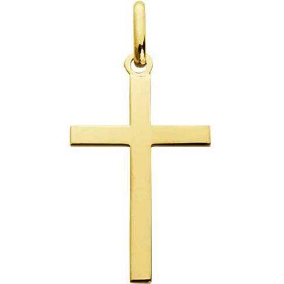 Croix 20 x 13 mm polie (or jaune 750°)  par A.Augis