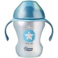Tasse à bec Easy Drink Explora bleue (230 ml)  par Tommee Tippee