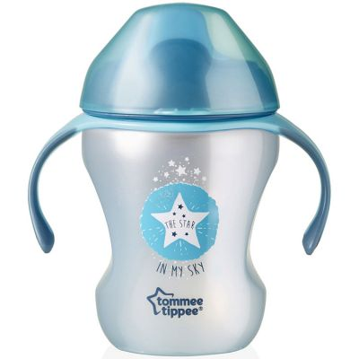 Tasse à bec Easy Drink Explora bleue (230 ml)  par Tommee Tippee