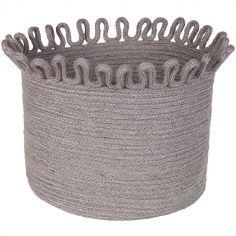Panier de rangement Omala gris (30 cm)