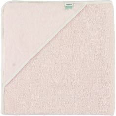Cape de bain Grain rose (75 x 75 cm)