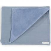 Couverture bébé Bohemian bleu (70 x 90 cm) - Pasito a pasito