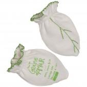 Moufles interlock maille interlock coton bio (3-6 mois) - Graine d'amour