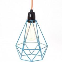 Lampe baladeuse Diamond 1 bleu et orange