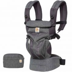 Porte-bébé Omni 360 Cool Air Mesh gris chiné