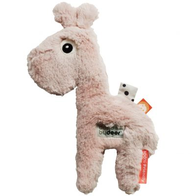 Peluche girafe Raffi rose (27 cm)  par Done by Deer