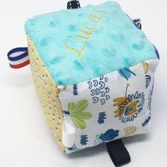 Kit cube d'éveil DIY Jungle Valentin (personnalisable)