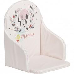 Coussin de chaise haute Minnie rose