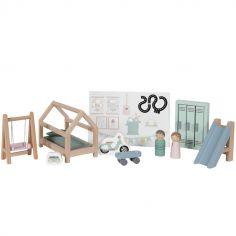 Chambre d'enfant et accessoires en bois
