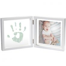 Cadre photo empreinte My Baby Style transparent peinture  par Baby Art