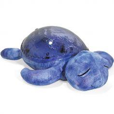 Veilleuse peluche tortue tranquille bleu marine