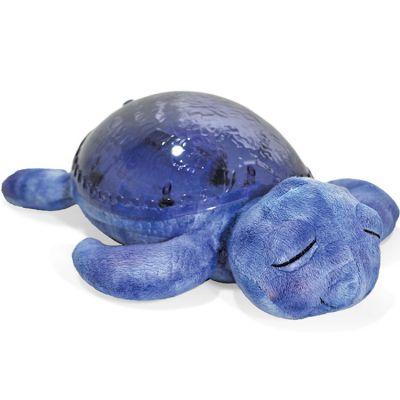 Veilleuse peluche tortue tranquille bleu marine Cloud B
