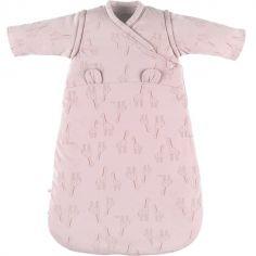 Gigoteuse en jersey bio chaude Mix & Match rose TOG 1-2 (70 cm)