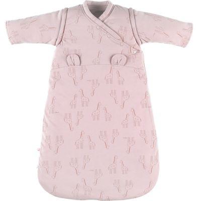 Gigoteuse en jersey bio chaude Mix & Match rose TOG 1-2 (70 cm)  par Noukie's