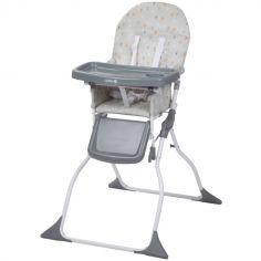 Chaise haute pliante Keeny Warm Grey
