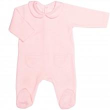 Grenouillère chaude Pink Bows (6 mois : 68 cm)  par Les Rêves d'Anaïs