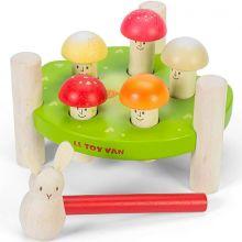 Jeu de marteau Messieurs Champignons  par Le Toy Van